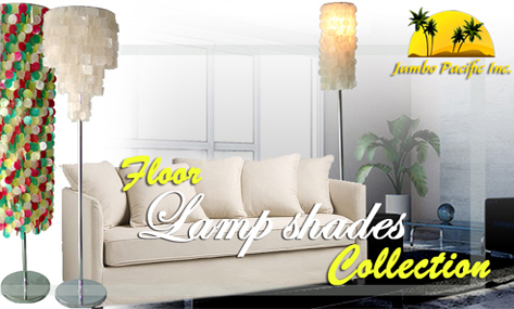floor capiz lamp shades.