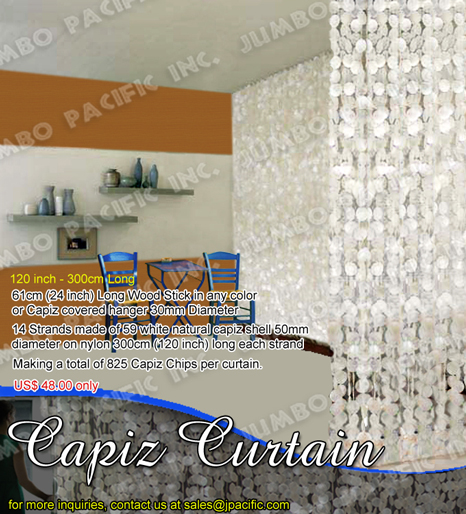 Capiz Curtain Capiz Chips And Strands Cheap Philippine